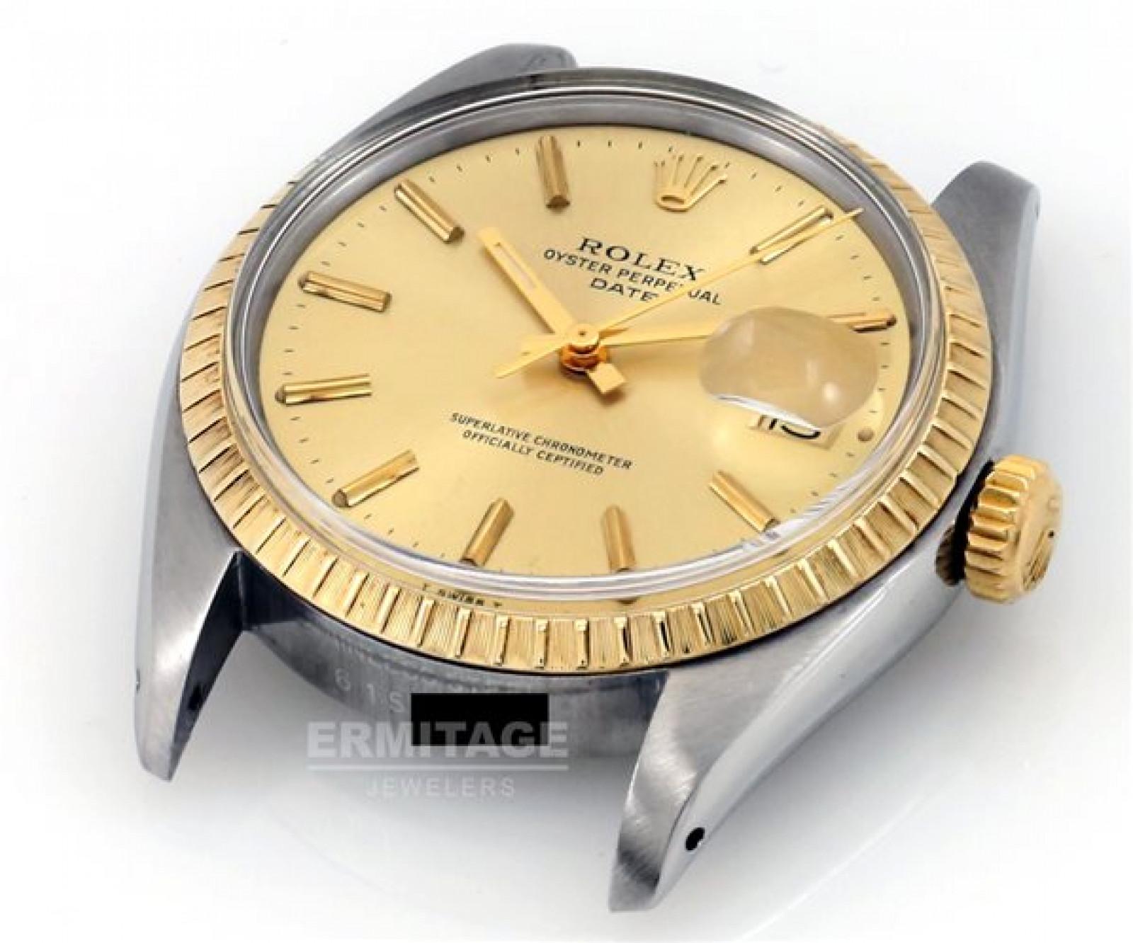 Rolex Date 1505 Gold & Steel