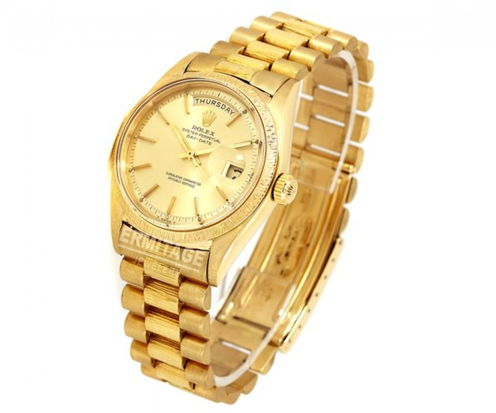 Vintage Rolex Day-Date 1807 Gold Year 1962 1962 with Champagne Dial