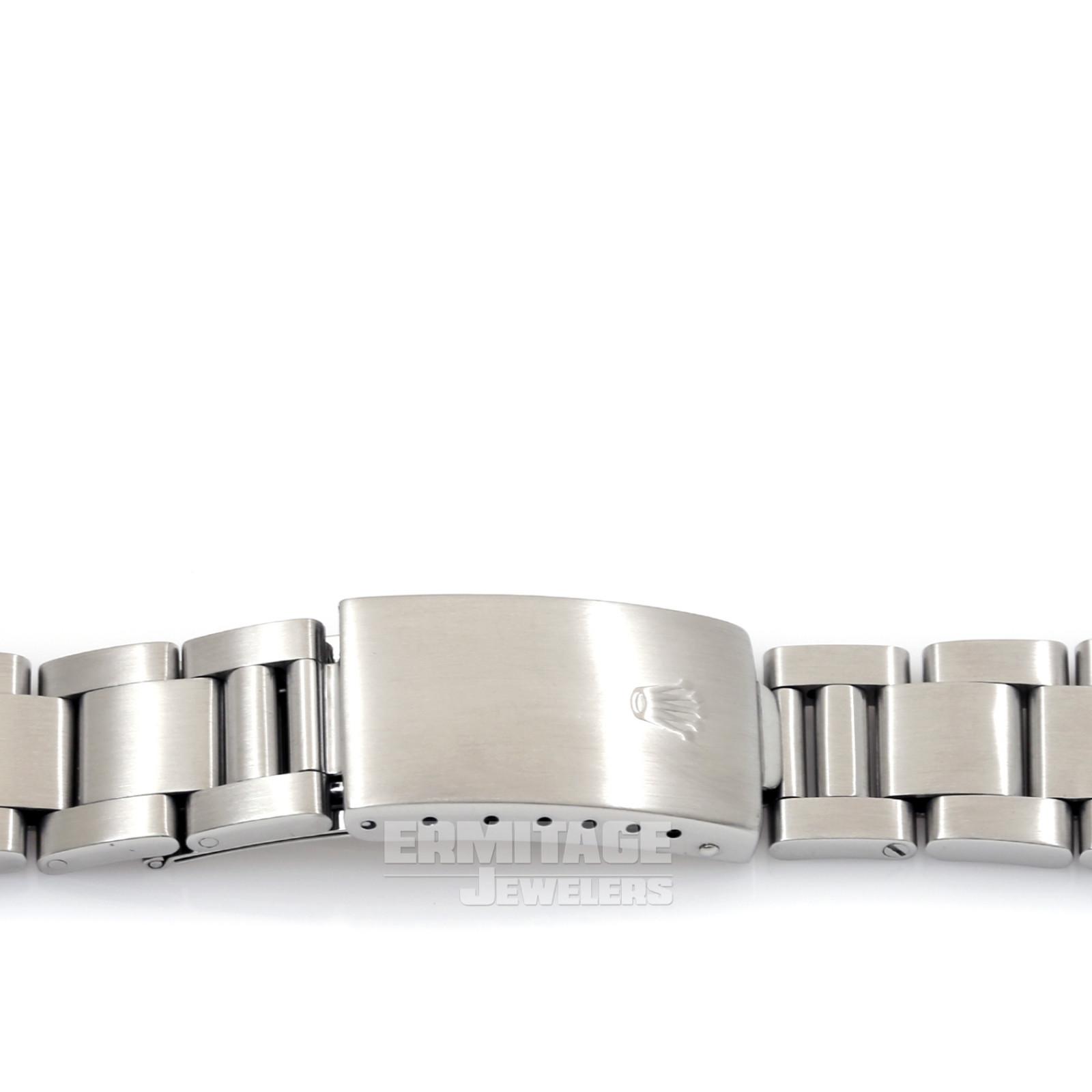 Steel on Oyster Rolex Explorer 1016 36 mm