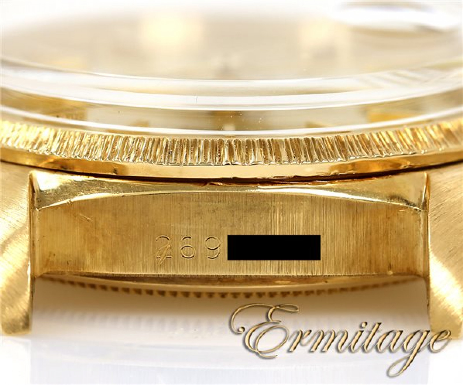 Vintage Rolex Day-Date 1807 Gold Year 1971 with Champagne Dial 1971