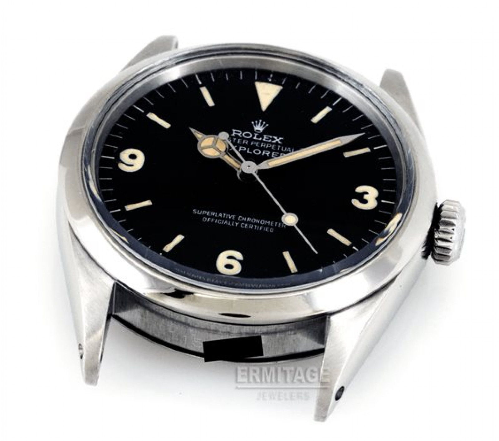 Vintage Rolex Explorer 1016 Steel with Black Dial