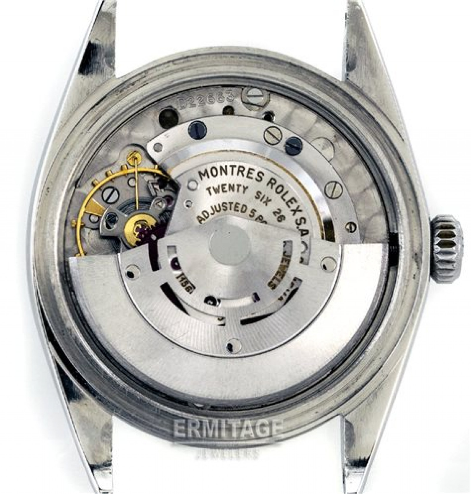 Vintage Rolex Explorer 1016 Steel with Black Dial