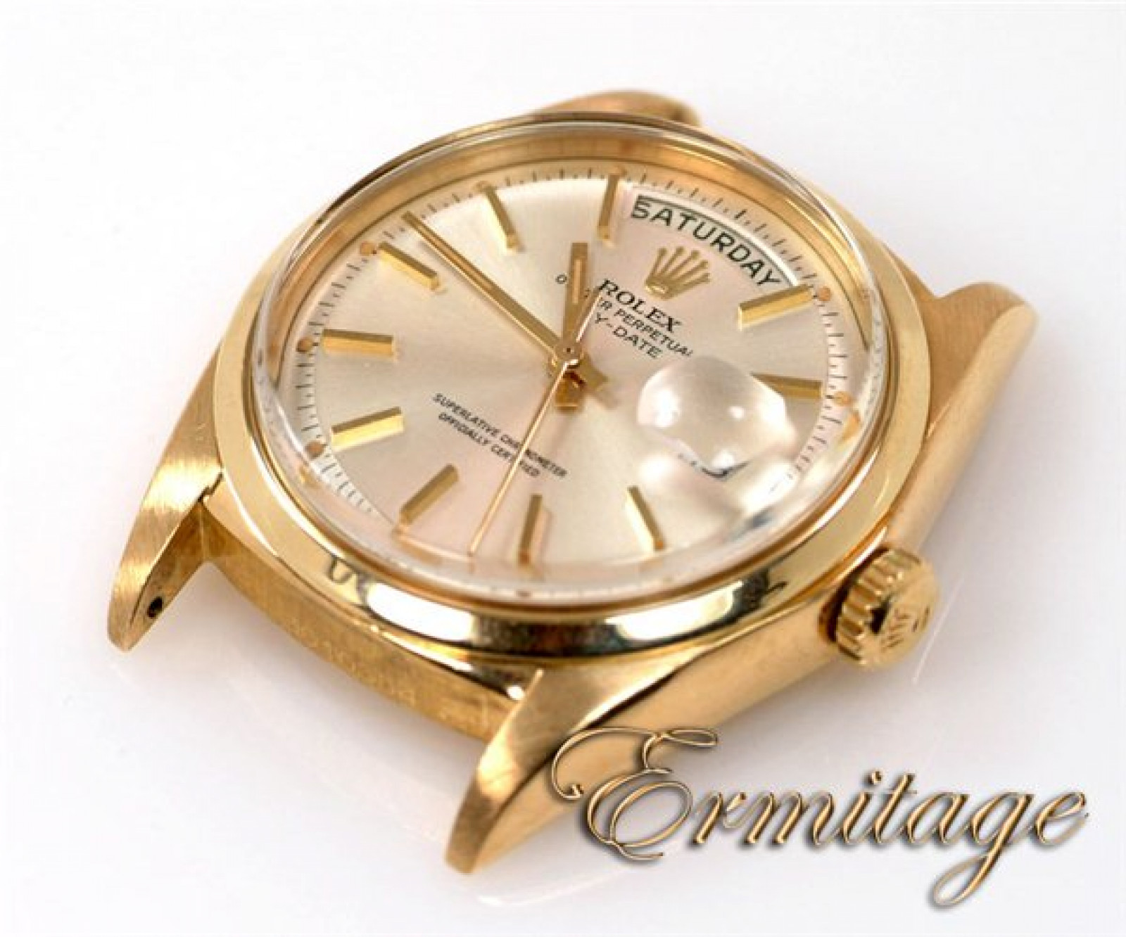 Vintage Rolex Day-Date 1803 Gold Silver 1970 with Champagne Dial