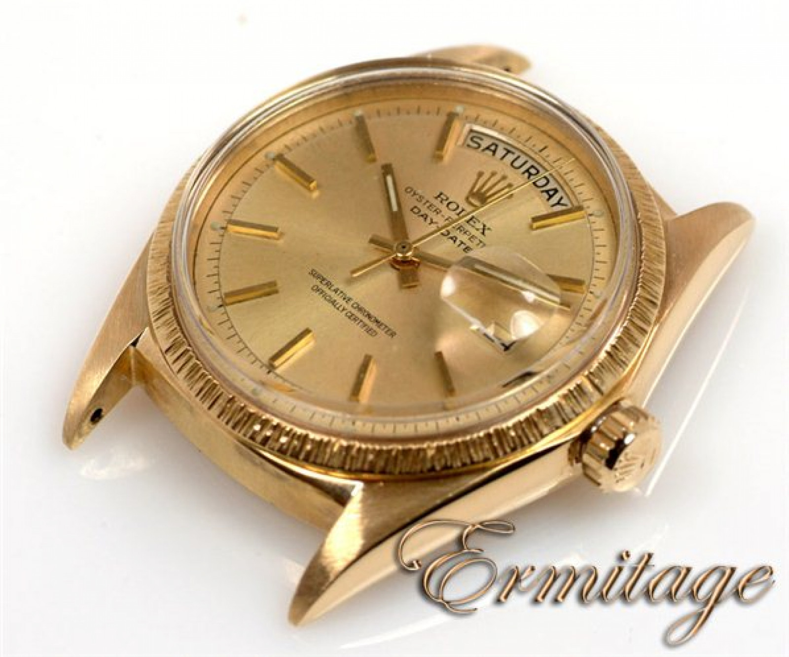 Vintage Rolex Day-Date 1807 Gold Year 1966 with Champagne Dial 1966