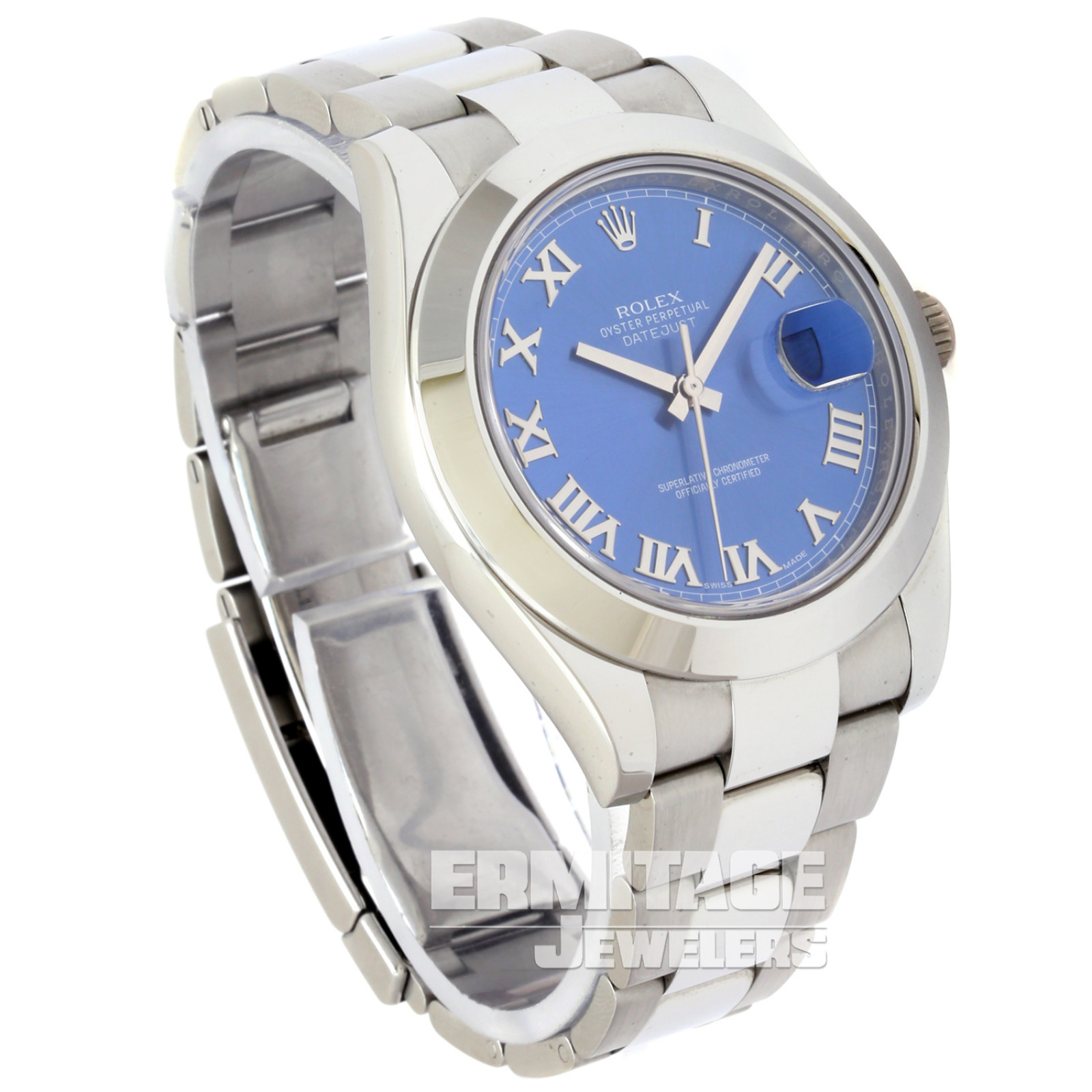 Mens Rolex Datejust 116300 with Blue Dial