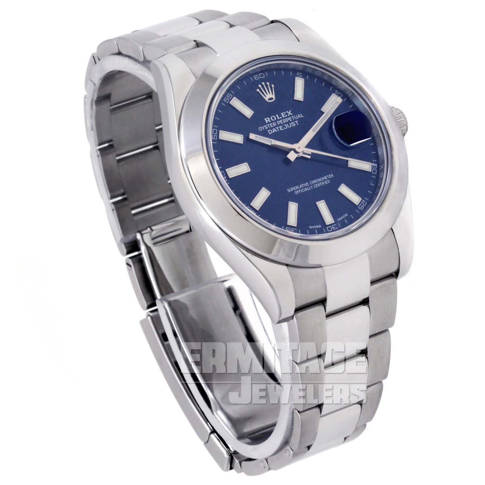 Rolex Datejust 116300 with Blue Dial