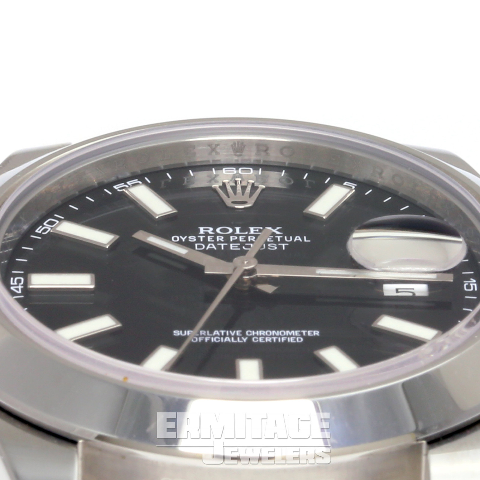 Rolex Datejust 116300 with Black Dial