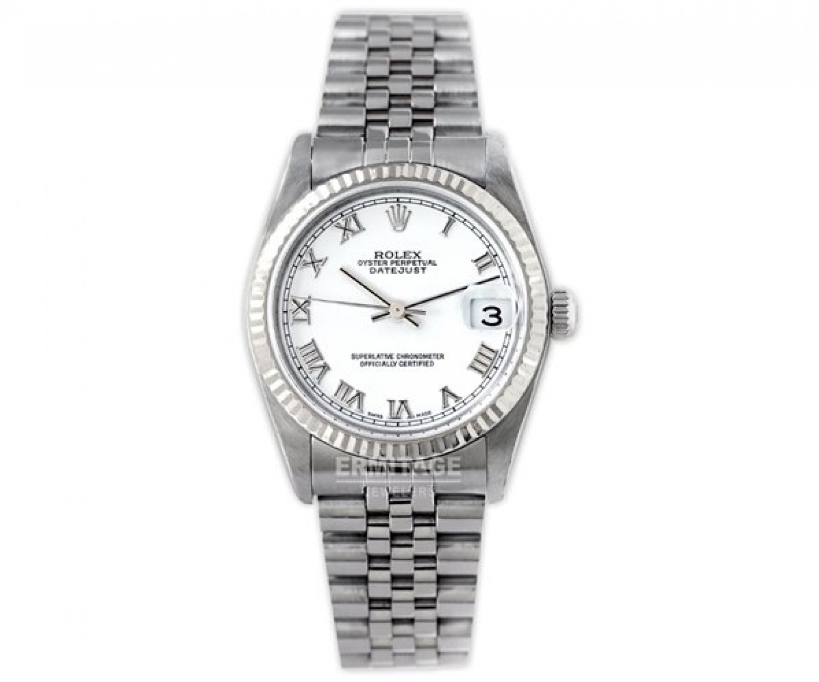 Rolex Datejust 78274 Steel with White Dial & Roman Markers