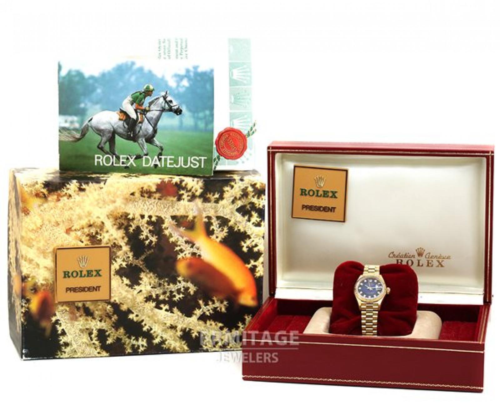Vignette Diamond Dial Rolex Datejust 69178