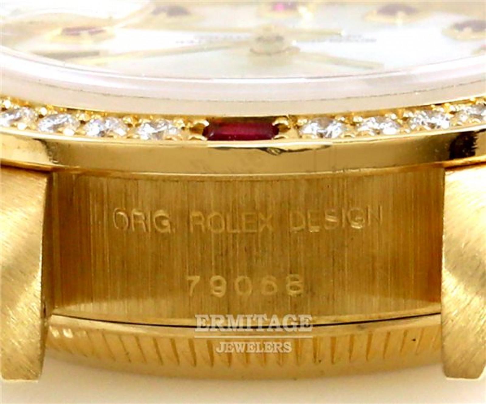 White Diamond Bezel & Dial Rolex Datejust 79068
