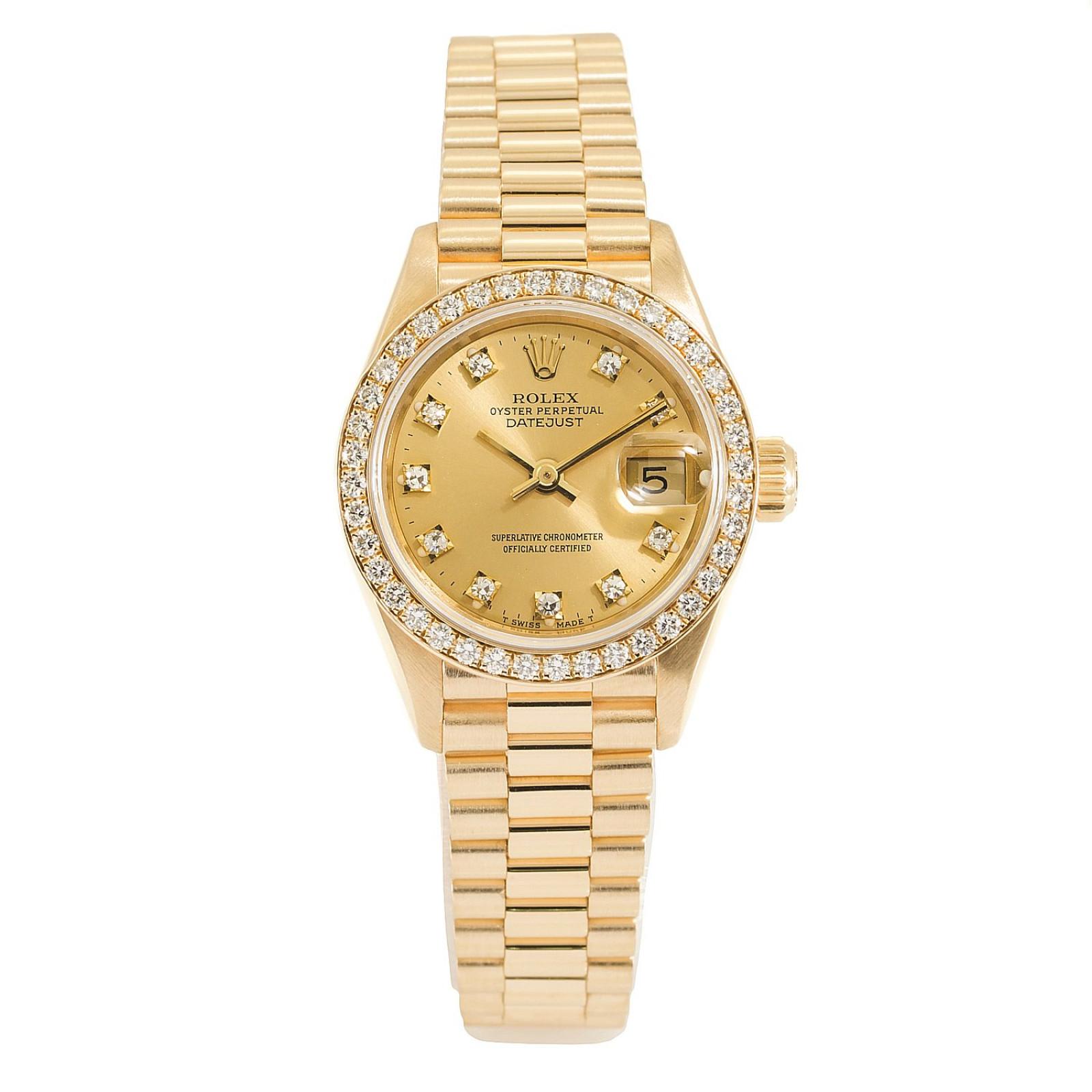 1992 Dimaond Rolex Datejust Ref. 69178