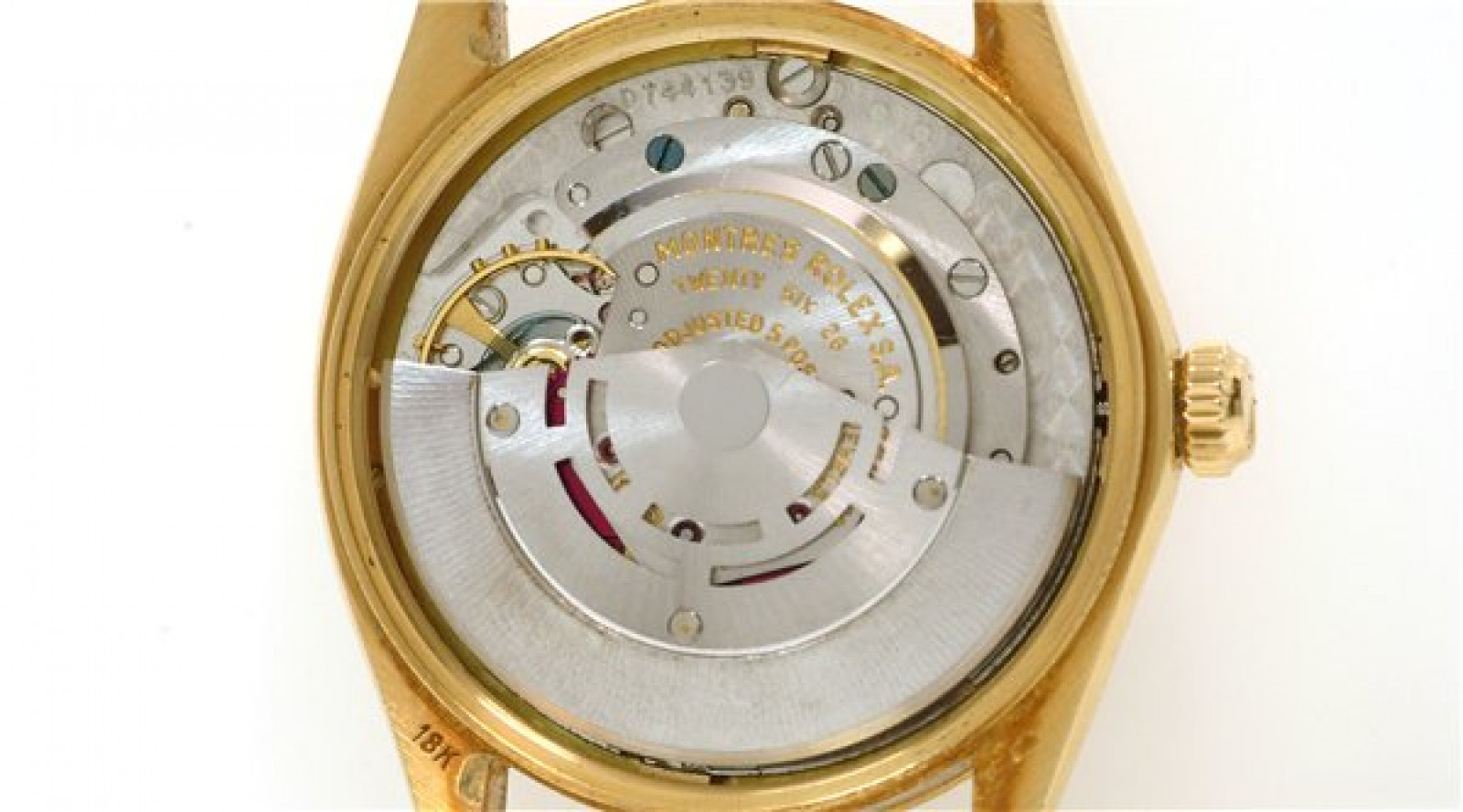 Vintage Rolex Date 1510 Gold with Champagne Dial