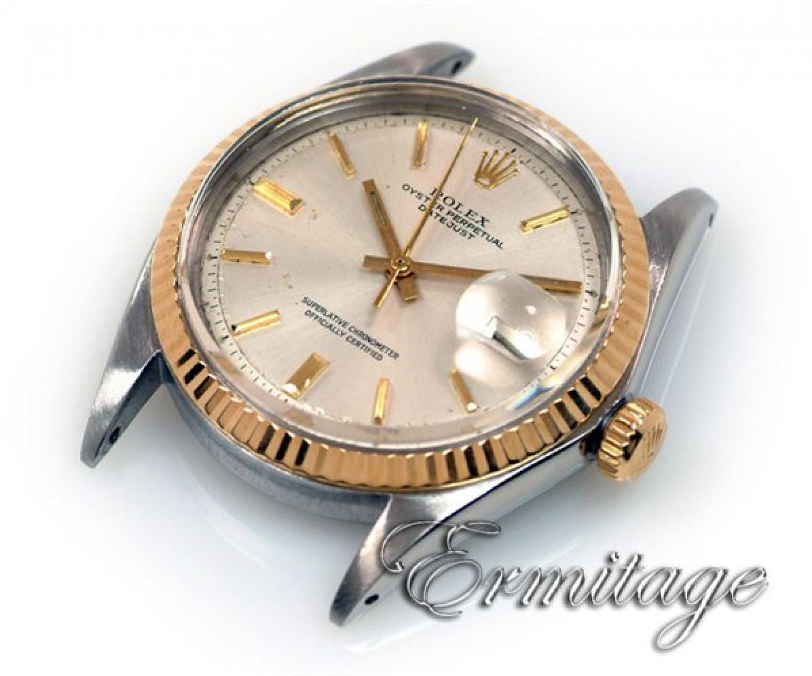Vintage Rare Rolex Datejust 1601 Steel Year 1959