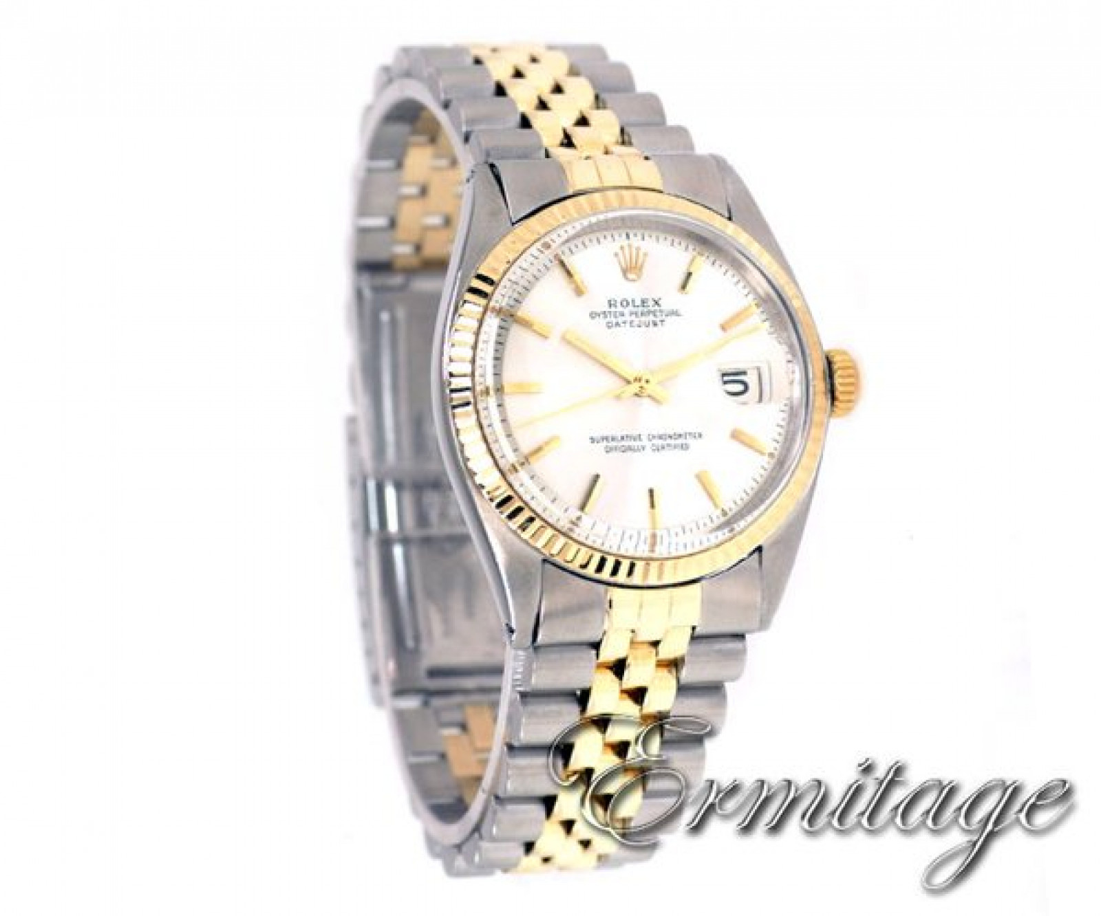 Vintage Rare Rolex Datejust 1601 Gold & Steel Year 1964