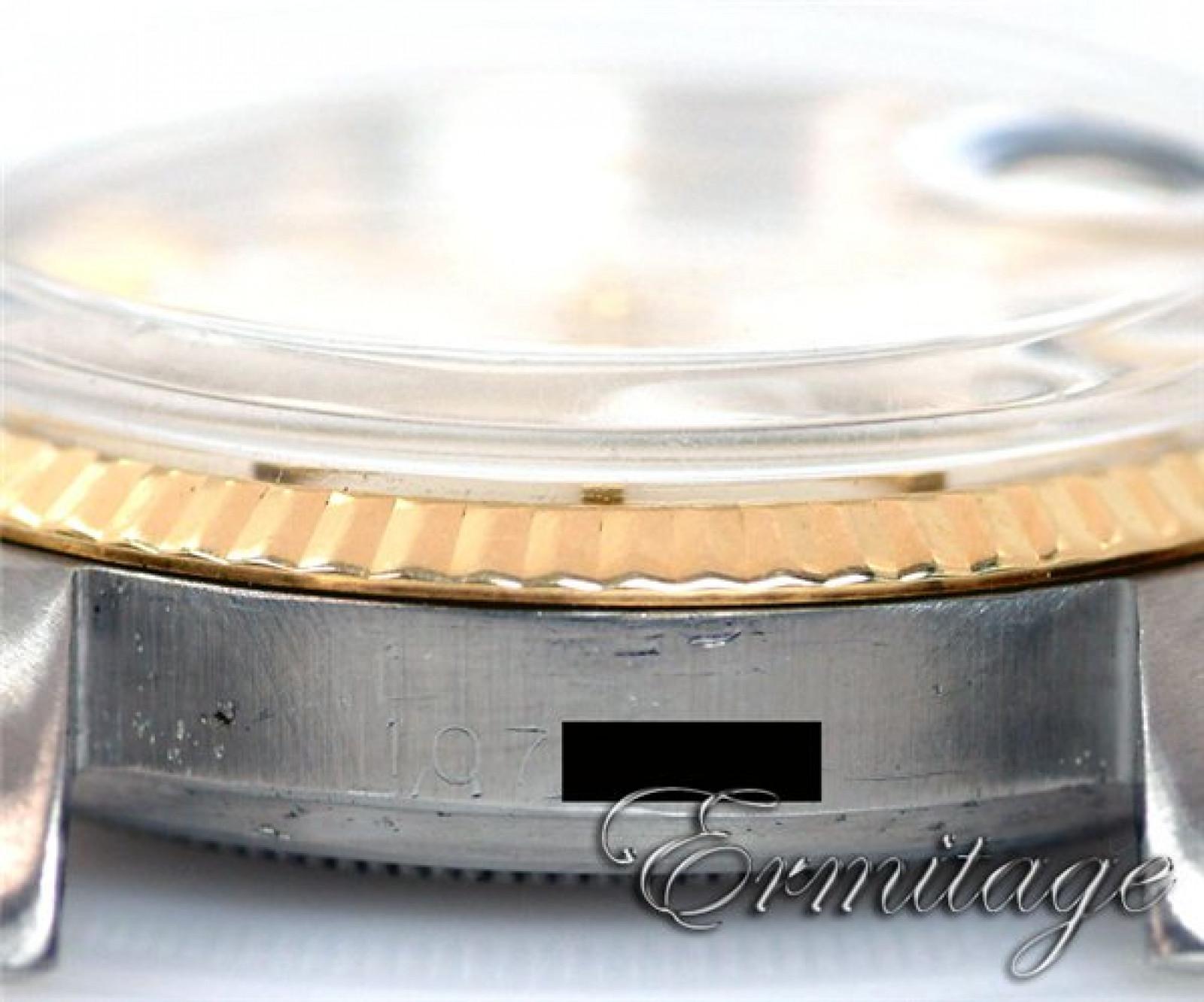 Vintage Rare Rolex Datejust 1601 Gold & Steel Year 1964