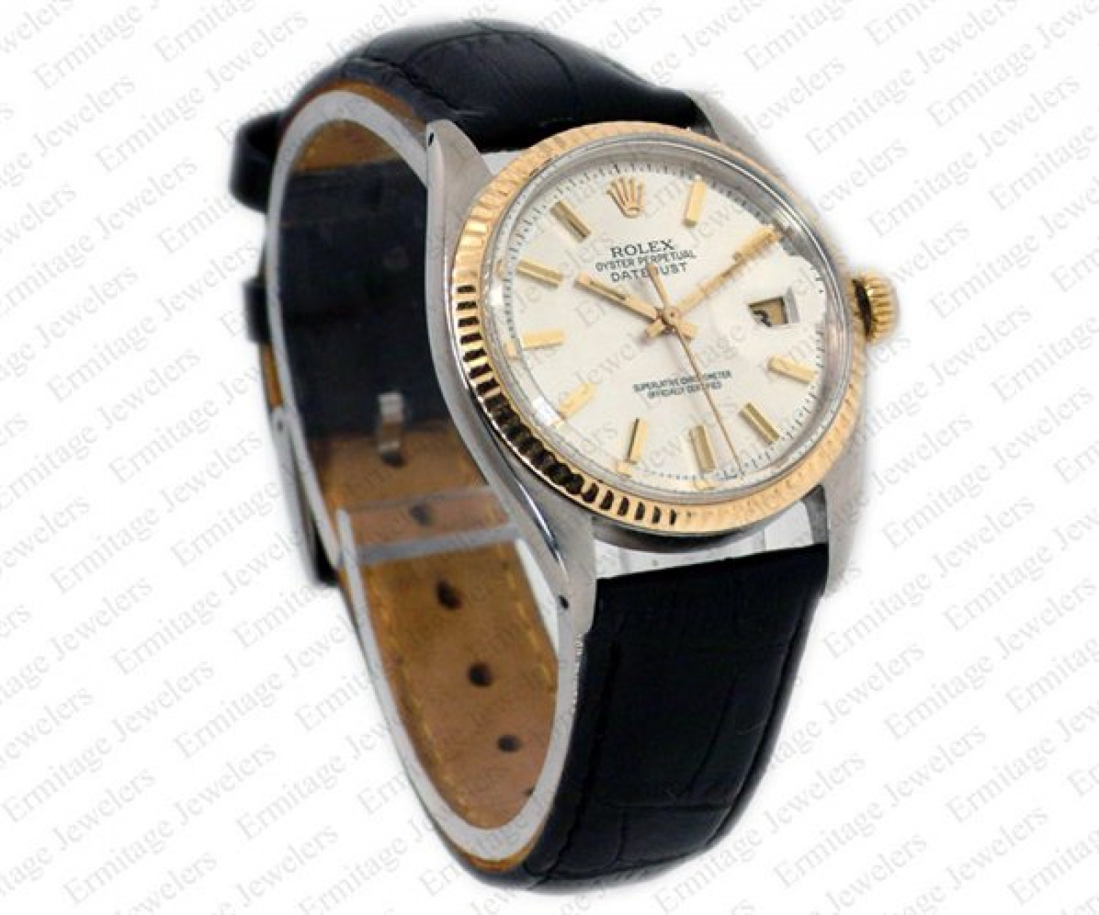Vintage Rare Rolex Datejust 1601 Steel Year 1968