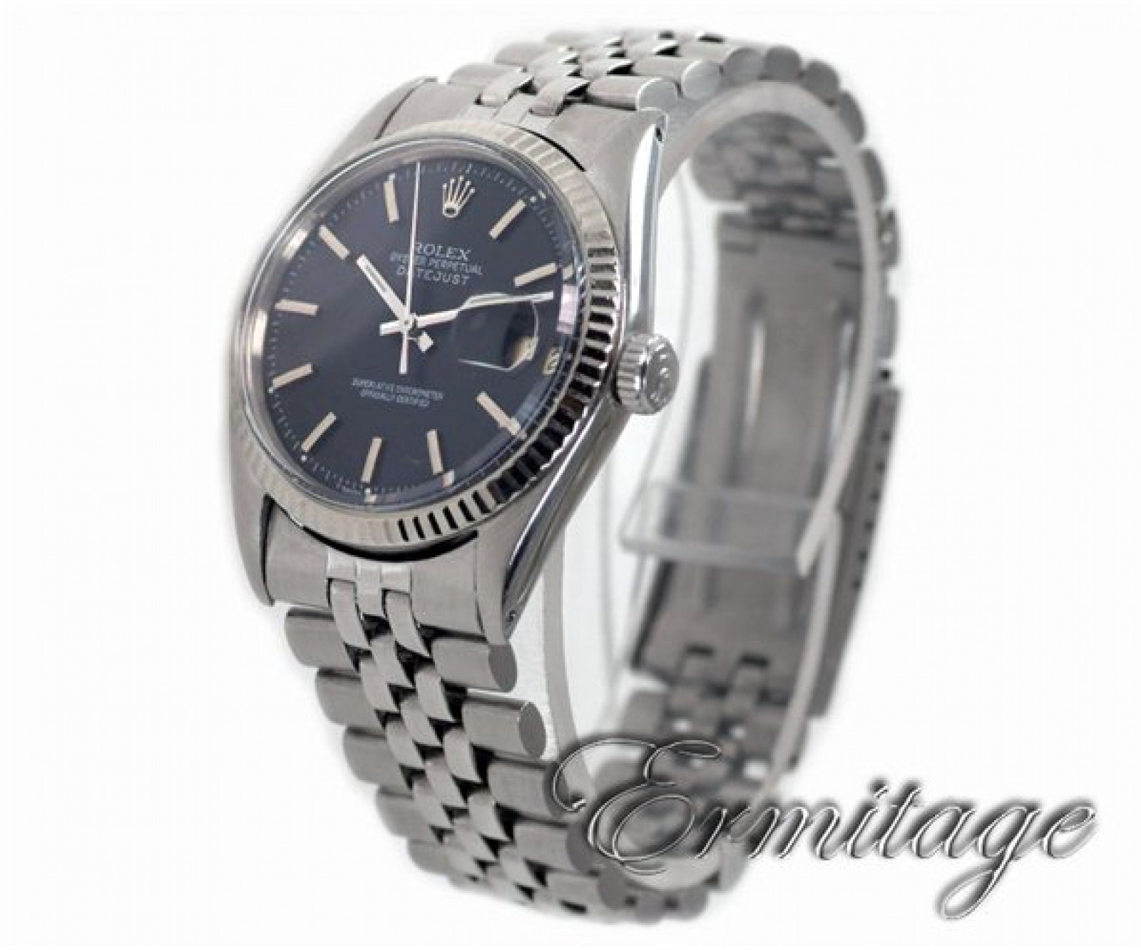 Vintage Rare Rolex Datejust 1601 Steel Year 1966