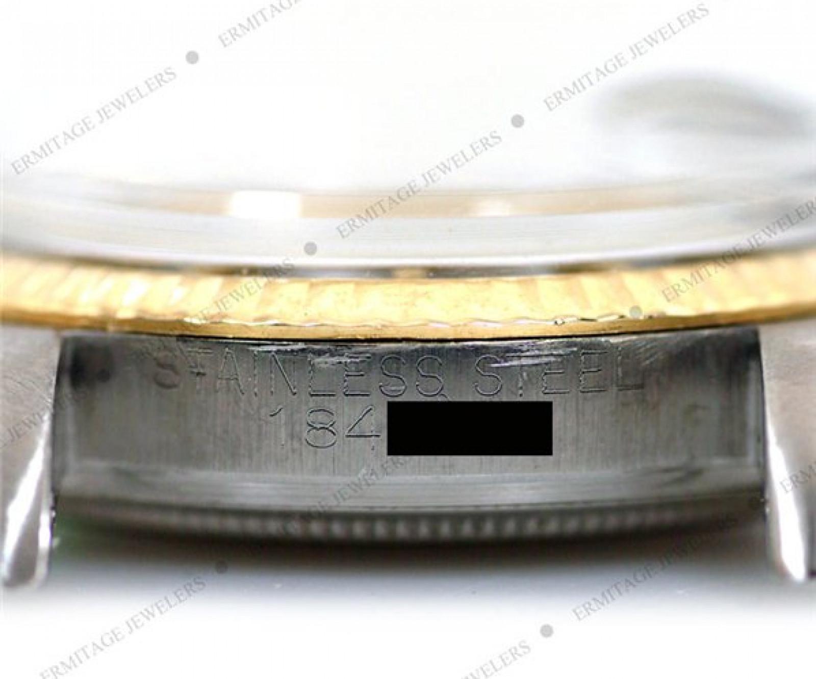 Vintage Rare Rolex Datejust 1601 Gold & Steel Circa 1952