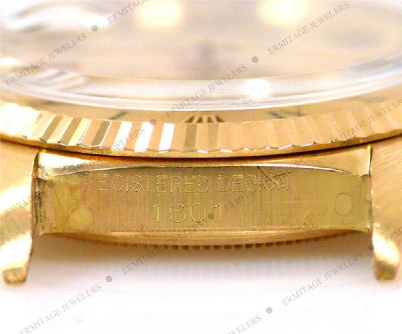 Vintage Rare Rolex Datejust 1601 Gold Year Circa 1961
