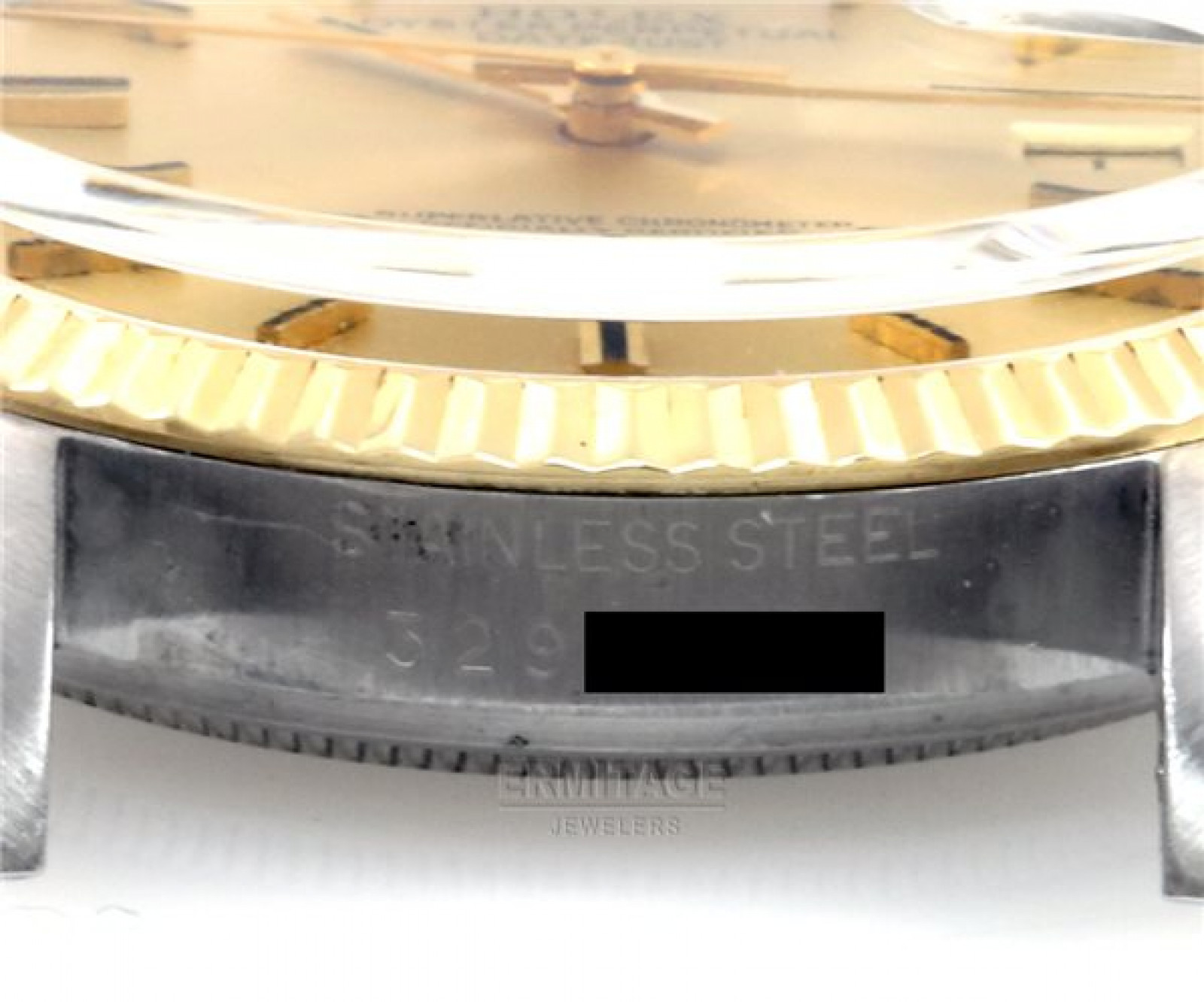 Vintage Rare Rolex Datejust 1601 Gold Year 1971