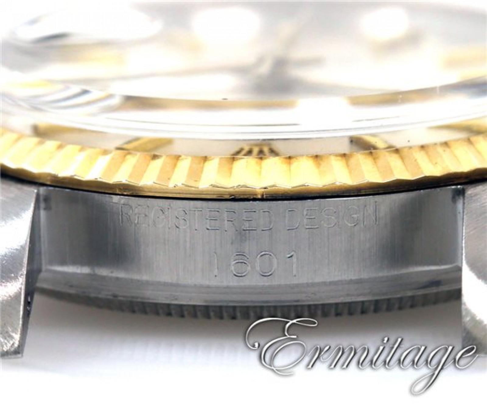 Vintage Rolex Datejust 1601 Gold & Steel Year 1964