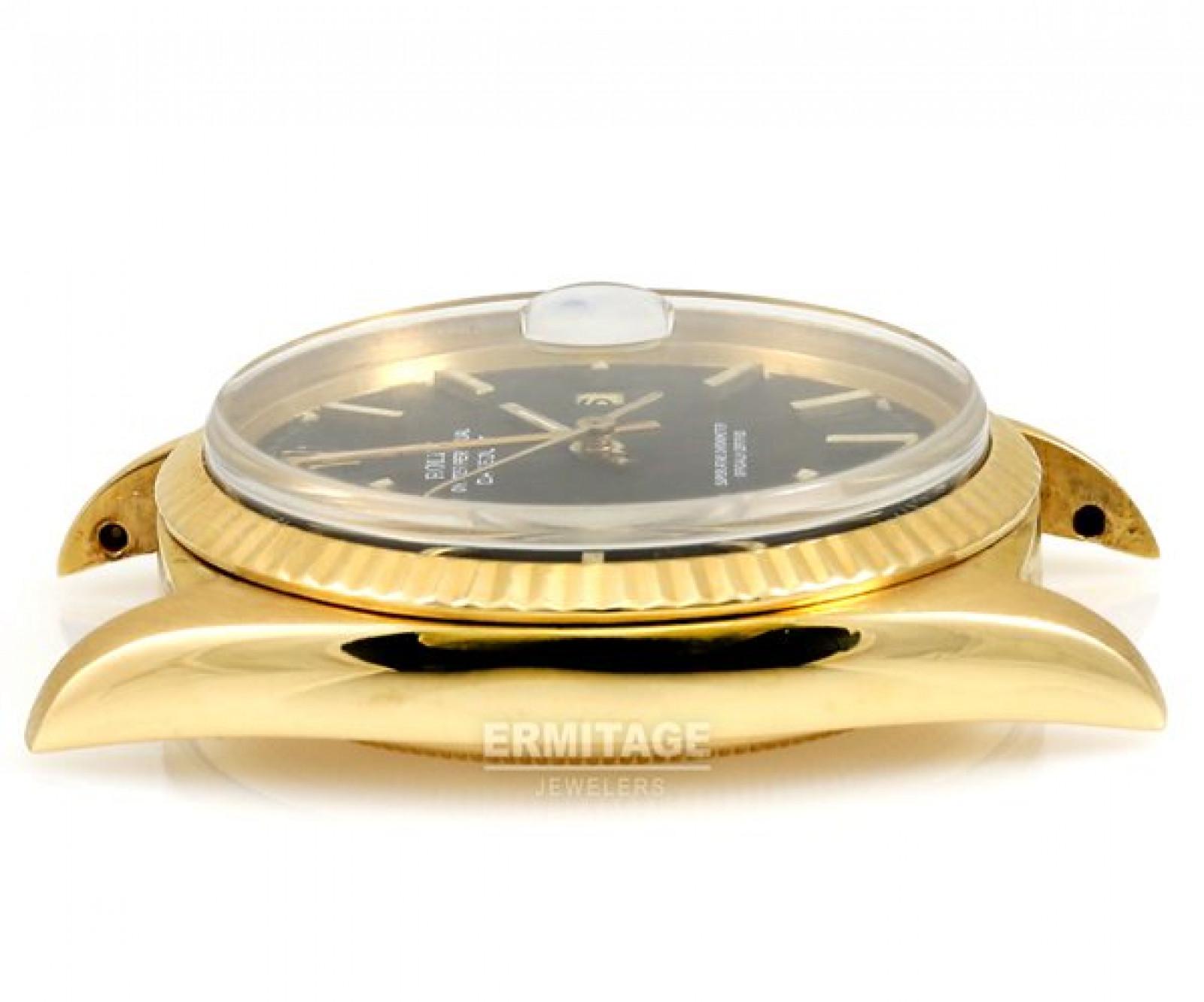 Vintage Rare Rolex Datejust 1601 Gold Year 1973