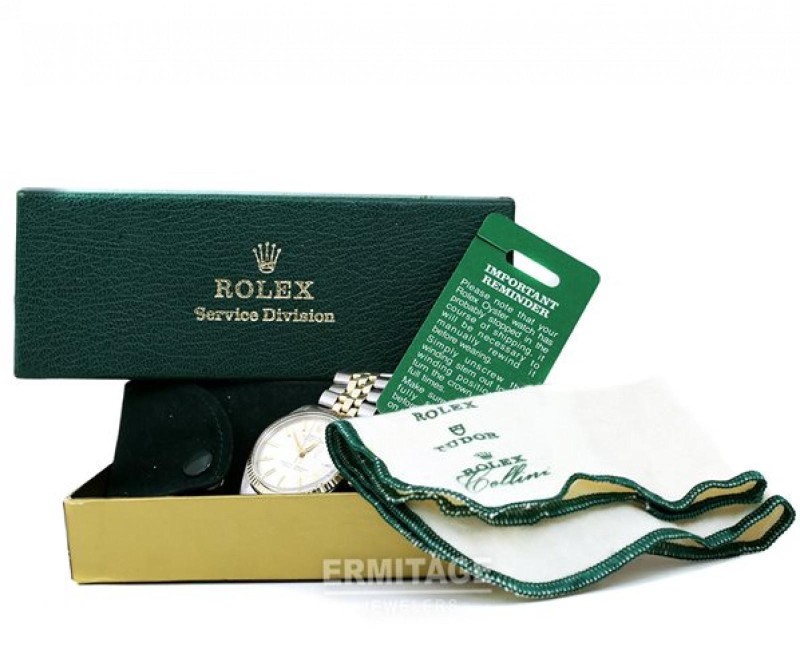 Vintage Rare Rolex Datejust 1601 Gold & Steel Year 1958