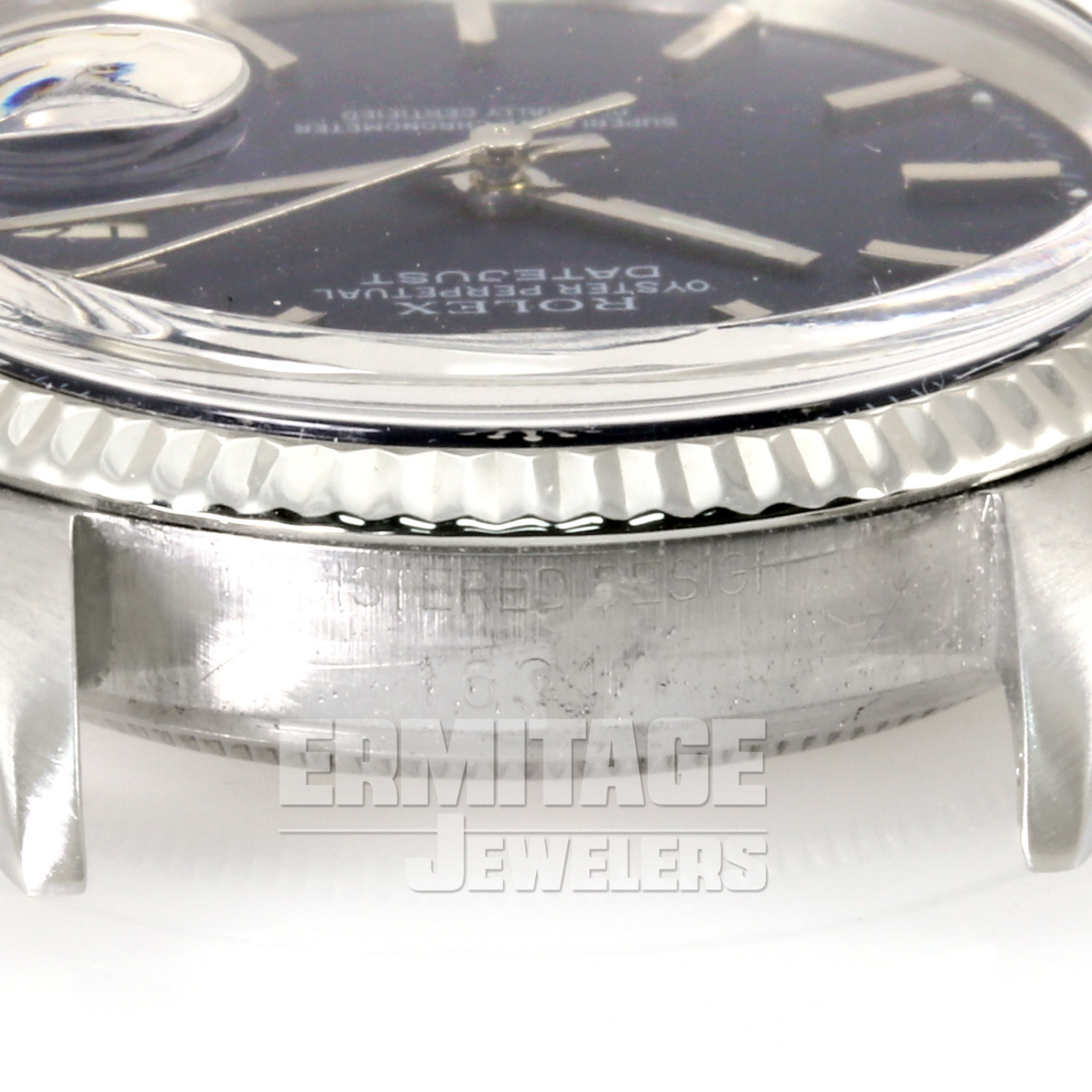 Rolex Datejust 1601 with Blue Dial