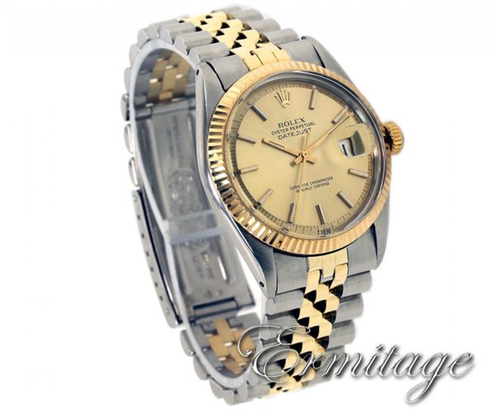 Rolex Datejust 1603 Gold & Steel