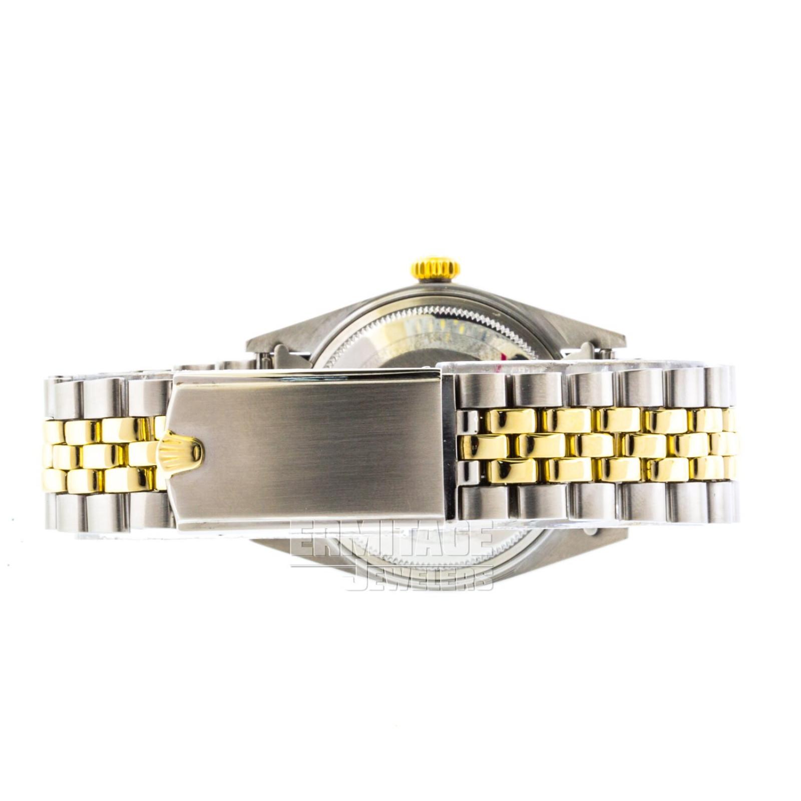 Steel on Jubilee Rolex Datejust 1601 36 mm