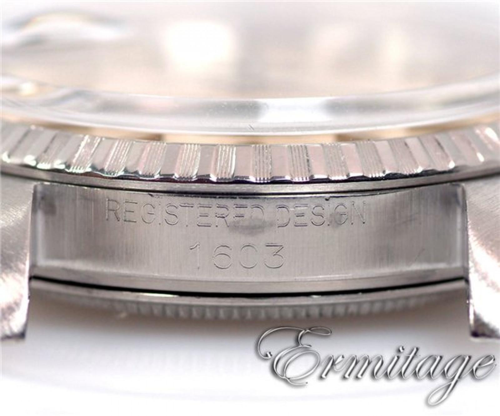 Vintage Rolex Datejust 1603 Steel Year 1965