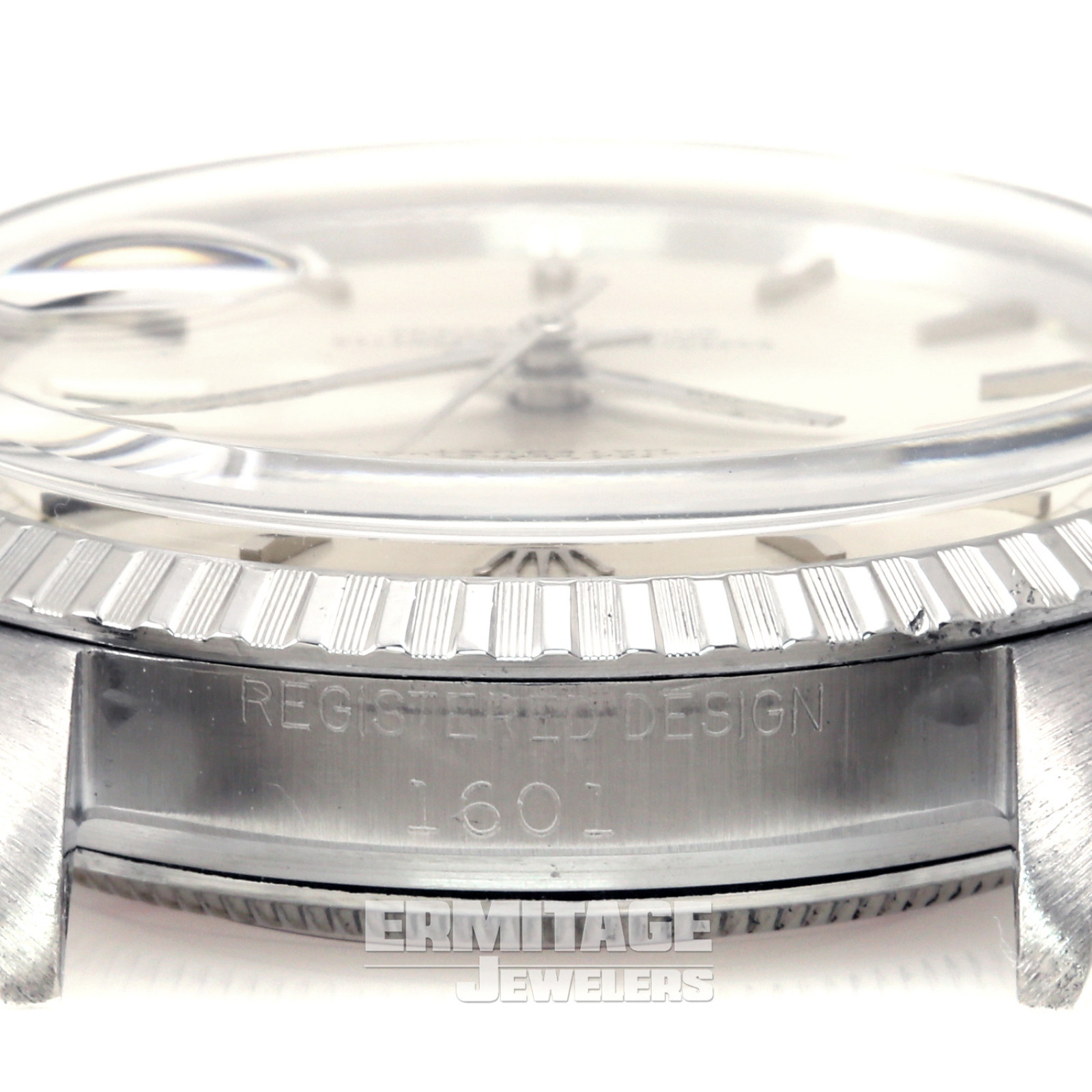 Rolex Datejust 1601 with Silver Dial