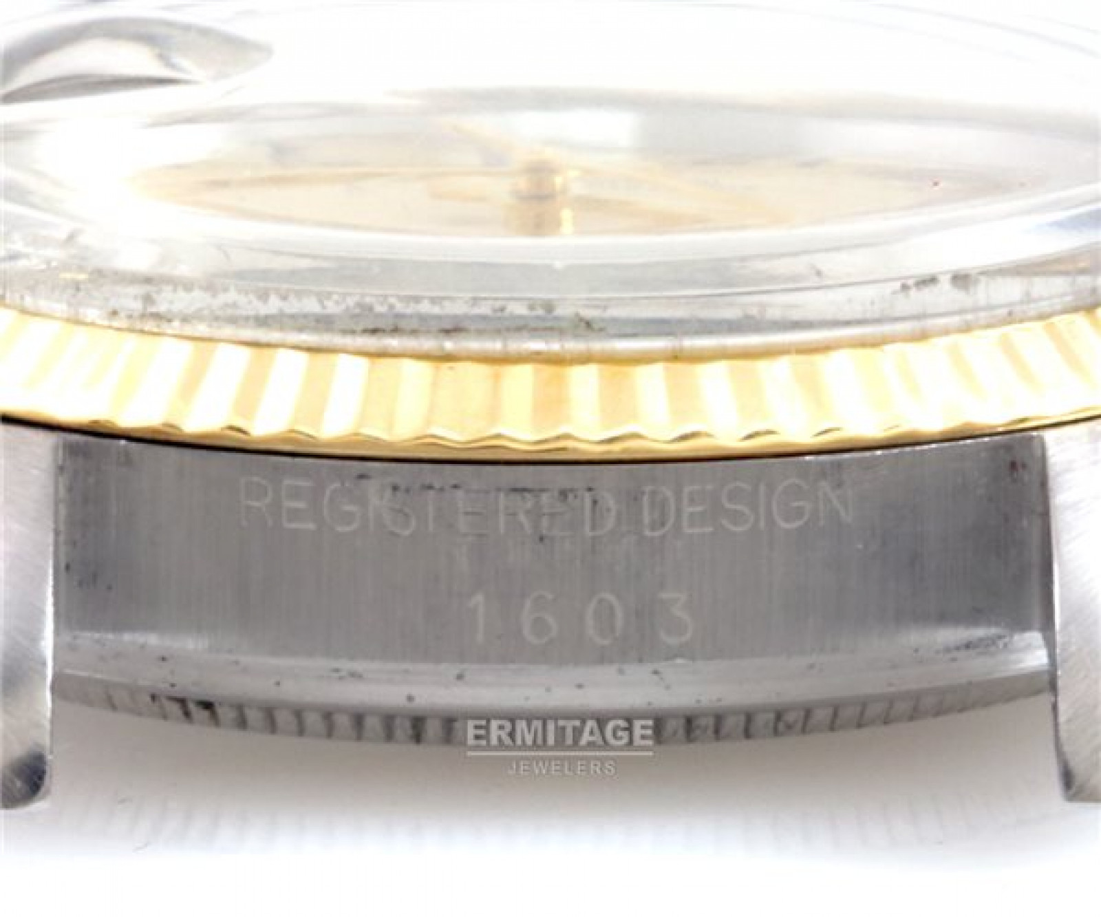 Vintage Rolex Datejust 1603 Steel
