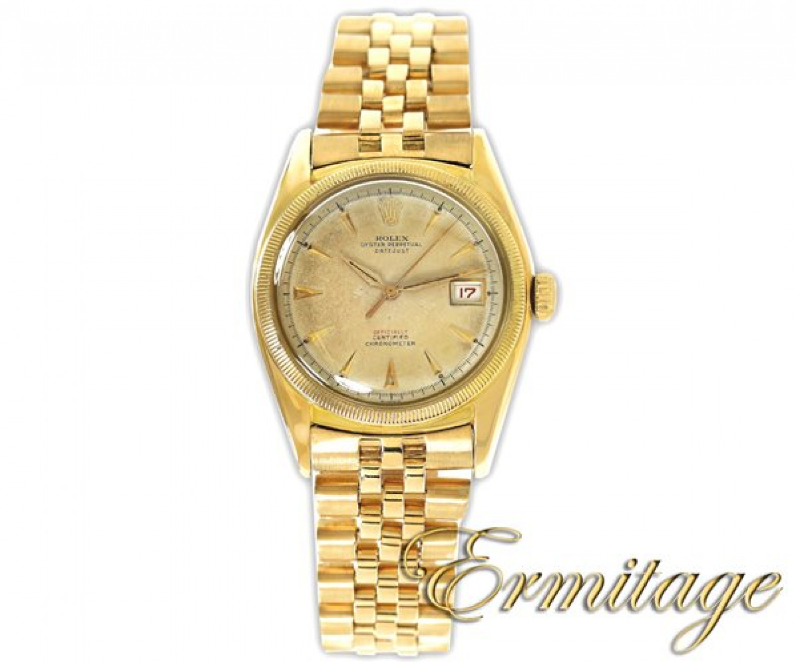Vintage Rolex Datejust 6105 Gold