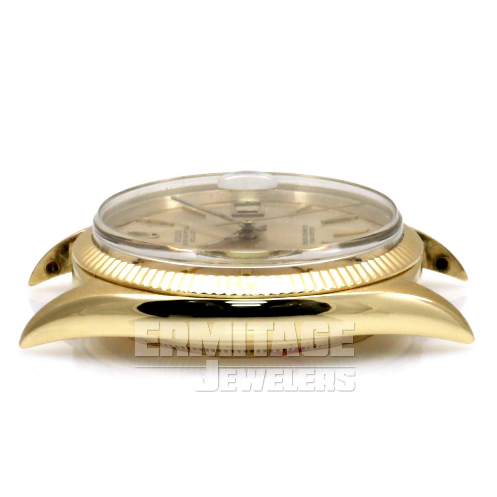 Vintage Rolex 1601 36 mm Yellow Gold President