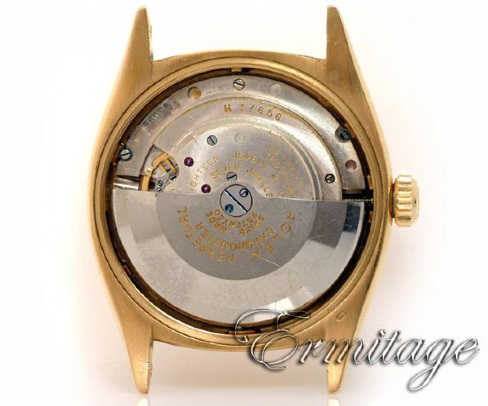 Vintage Rolex Datejust 6305 Gold