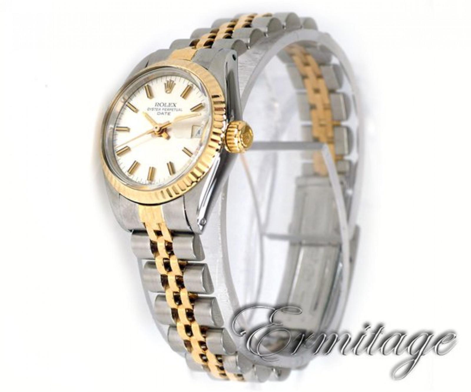 Vintage Rolex Date 6917 Gold & Steel