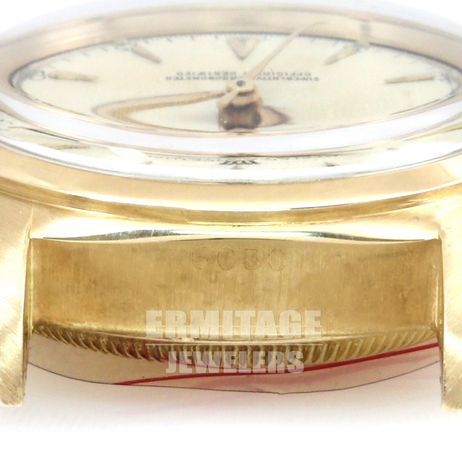 Gold Rolex Datejust 6030 in Jubilee
