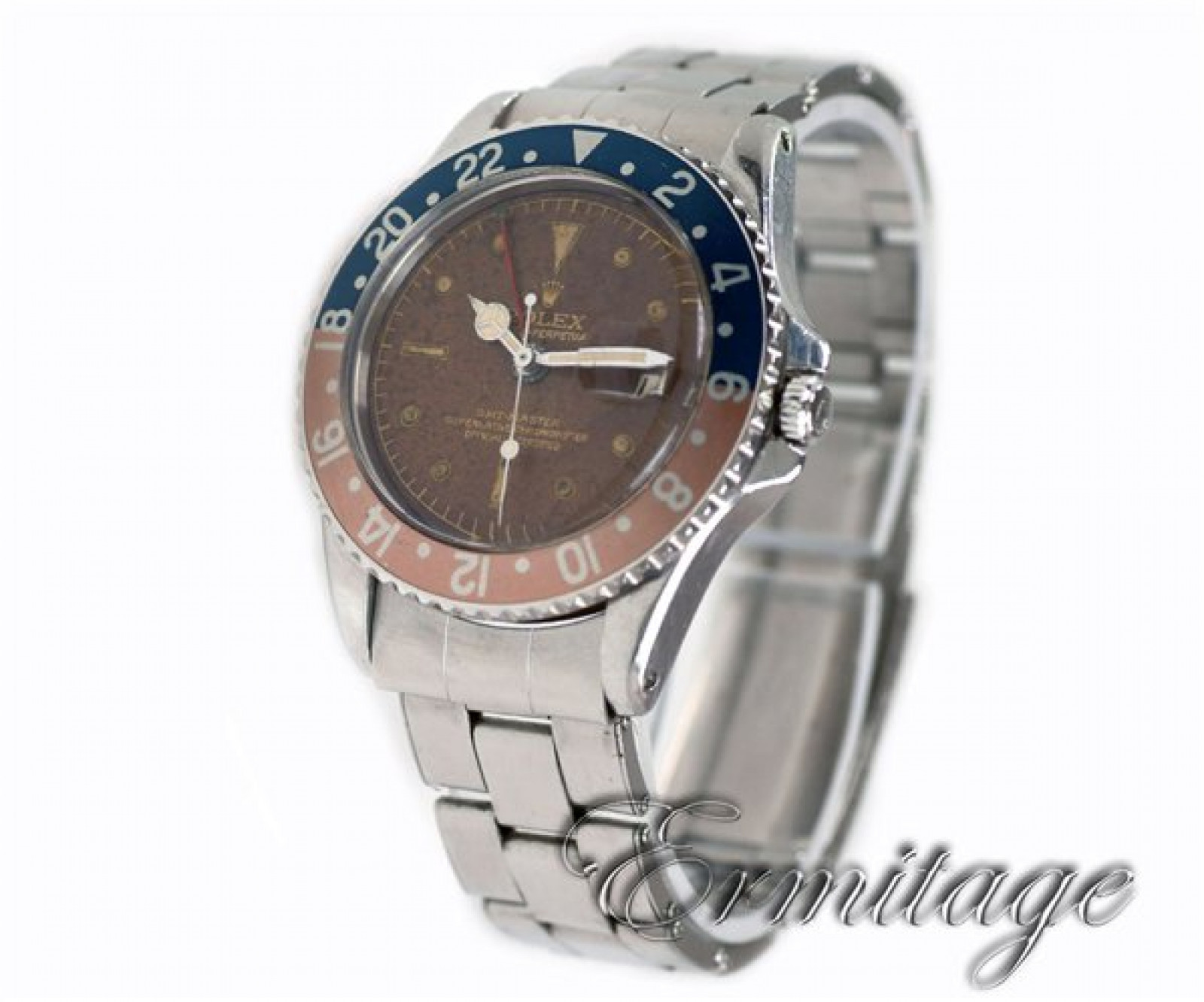 Vintage Rolex GMT-Master 1675 Steel Year 1960