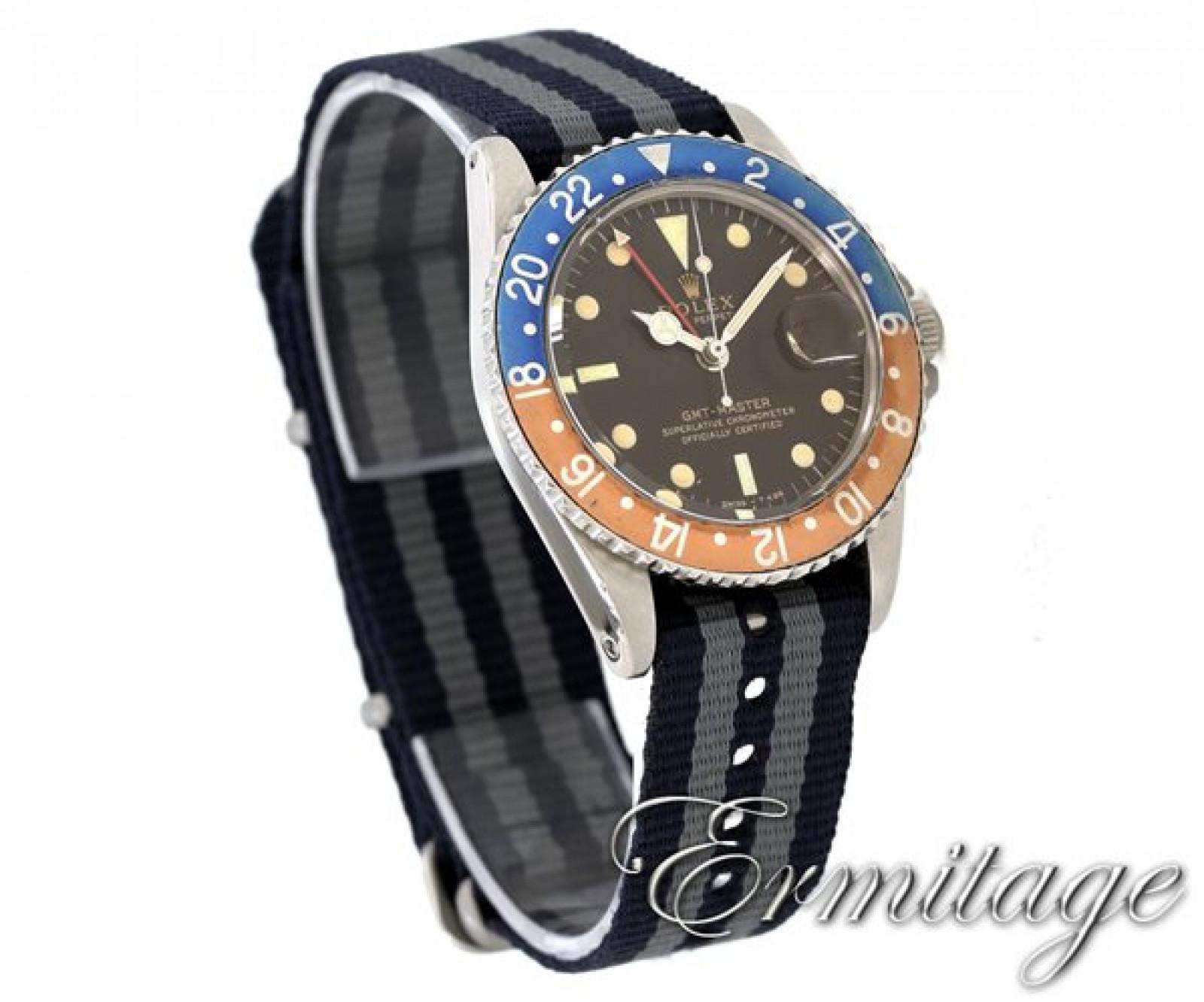 Rolex GMT-Master 1675 Steel