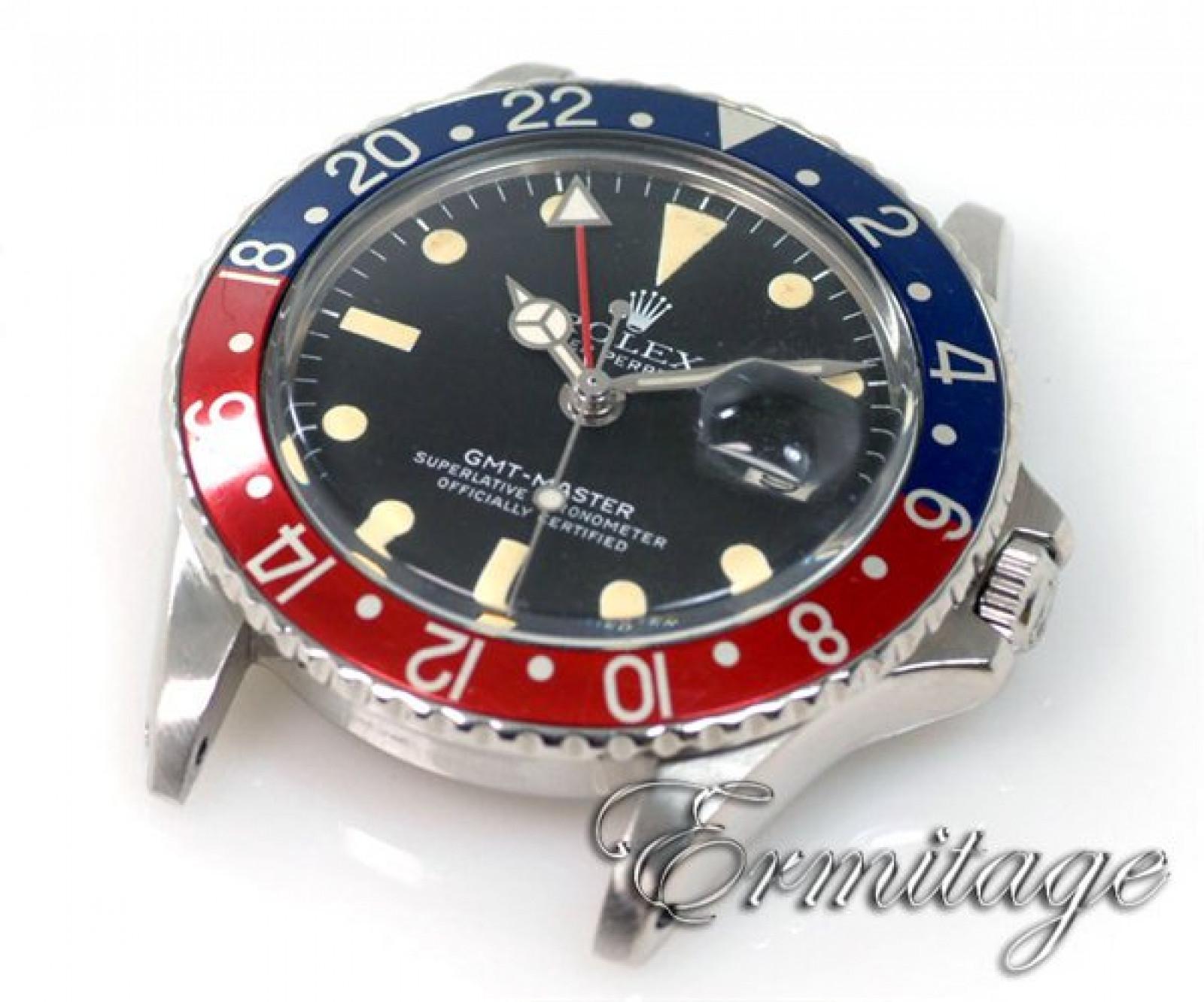 Vintage Rolex GMT-Master 1675 Pepsi Bezel