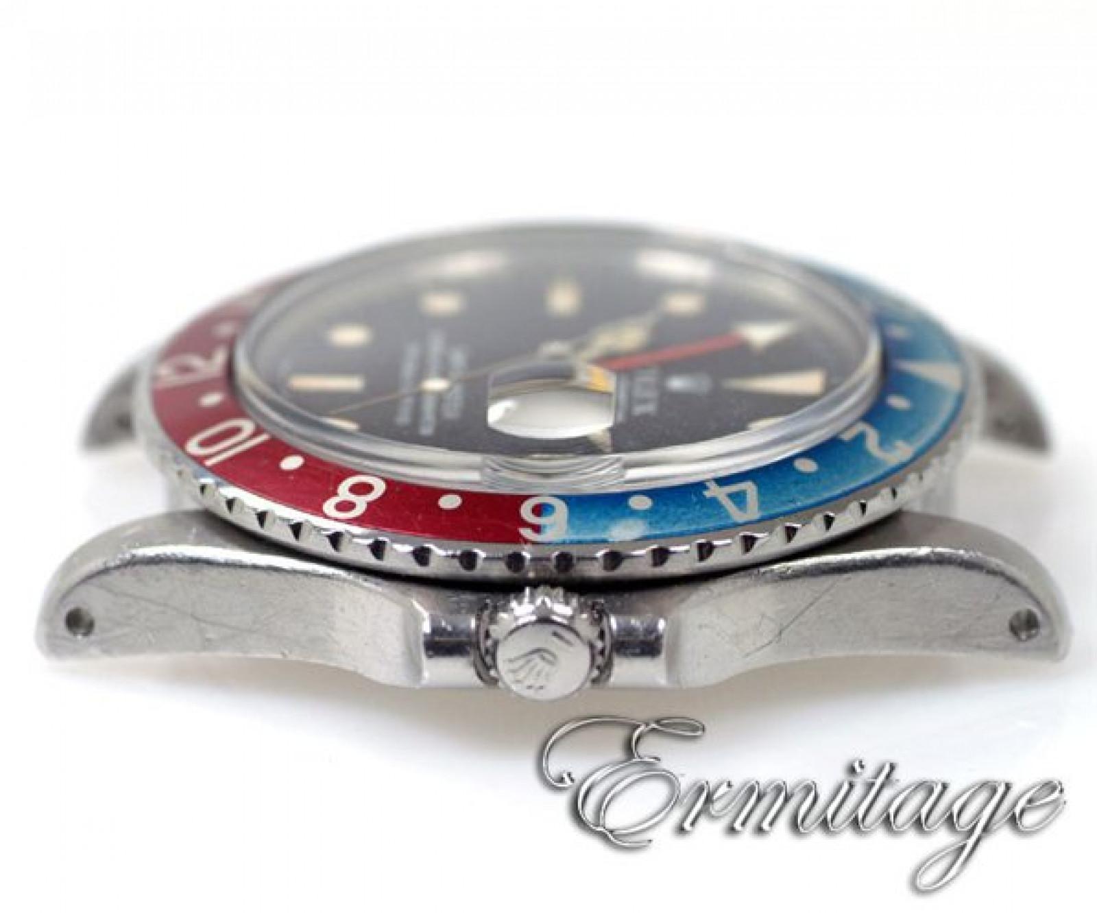 Vintage Pepsi Style Vintage Rolex GMT-Master 1675 Steel Year 1970