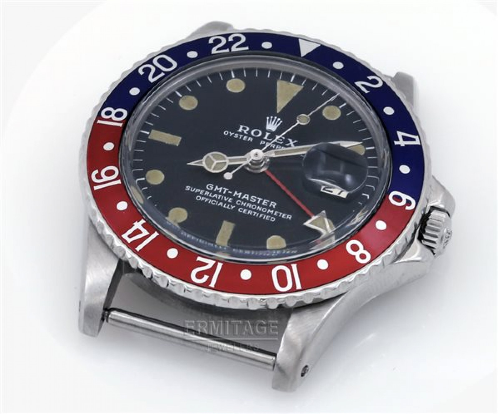 Vintage Rolex GMT-Master 1675 Steel Year 1971 with Black Dial 1971
