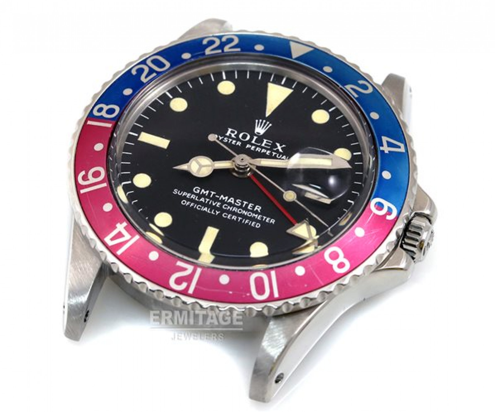 Vintage Rolex GMT-Master 1675 Steel Year 1970 with Black Dial 1970