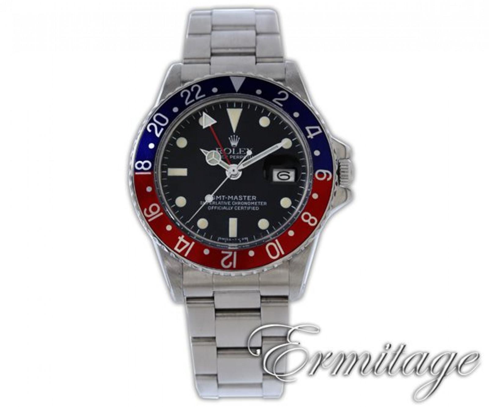 1976 Black Rolex GMT-Master Ref. 1675