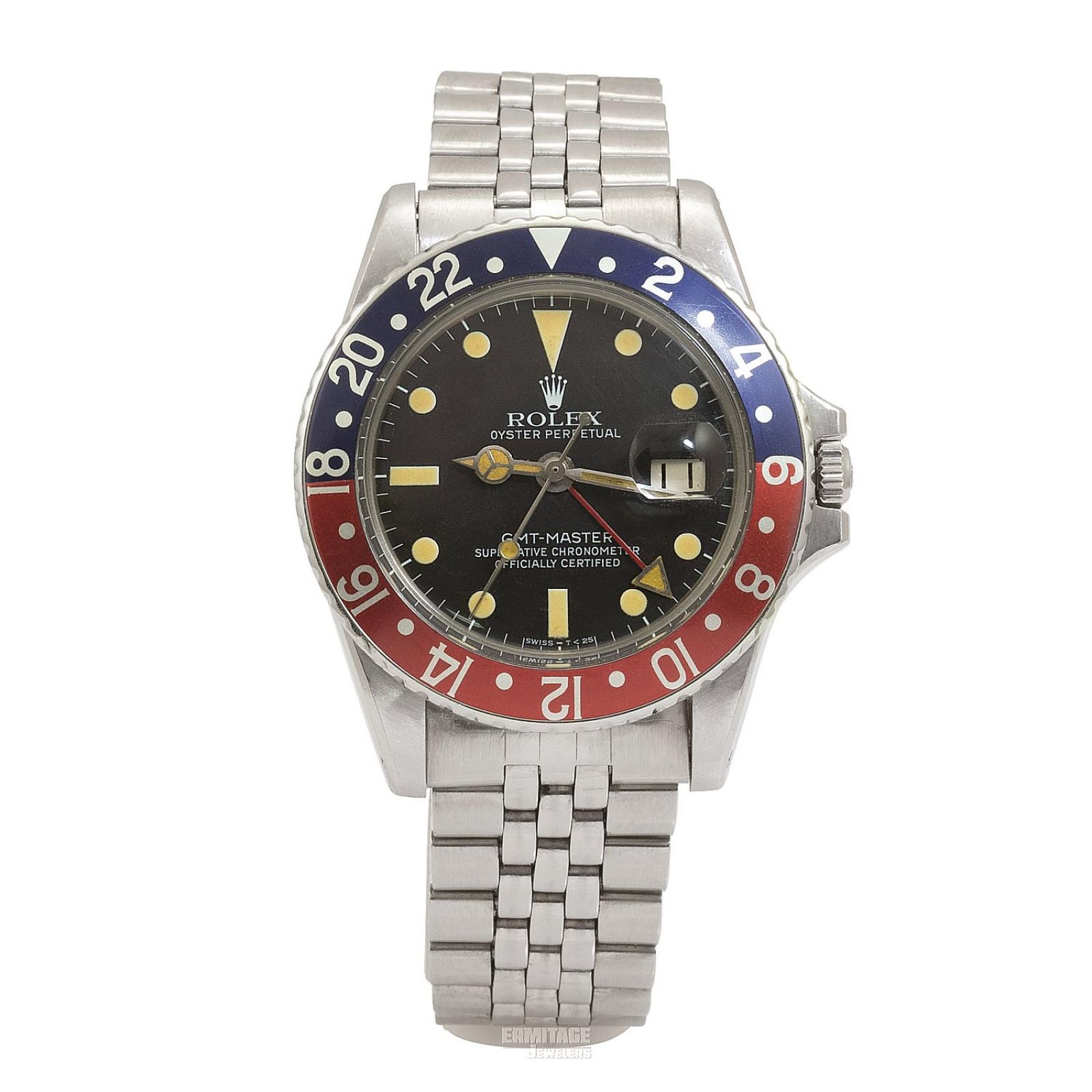 1967 Black Rolex GMT-Master Ref. 1675