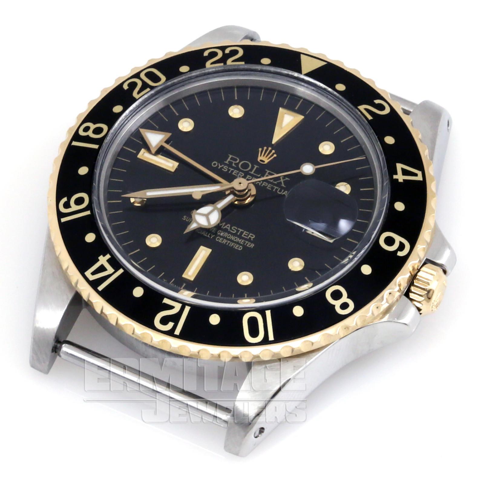 Vintage Steel Rolex GMT-Master 1675