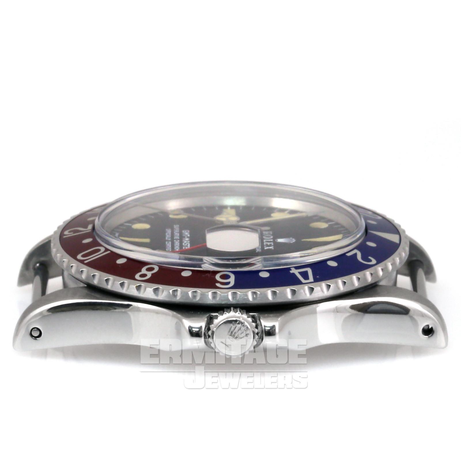 Vintage Rolex 1675 40 mm Blue & Red Ceramic