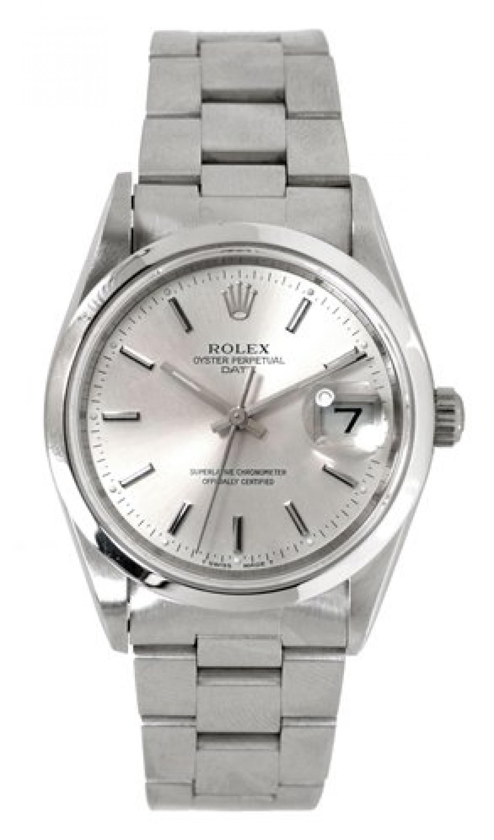 Rolex Date 15200 Steel Silver Dial 1996