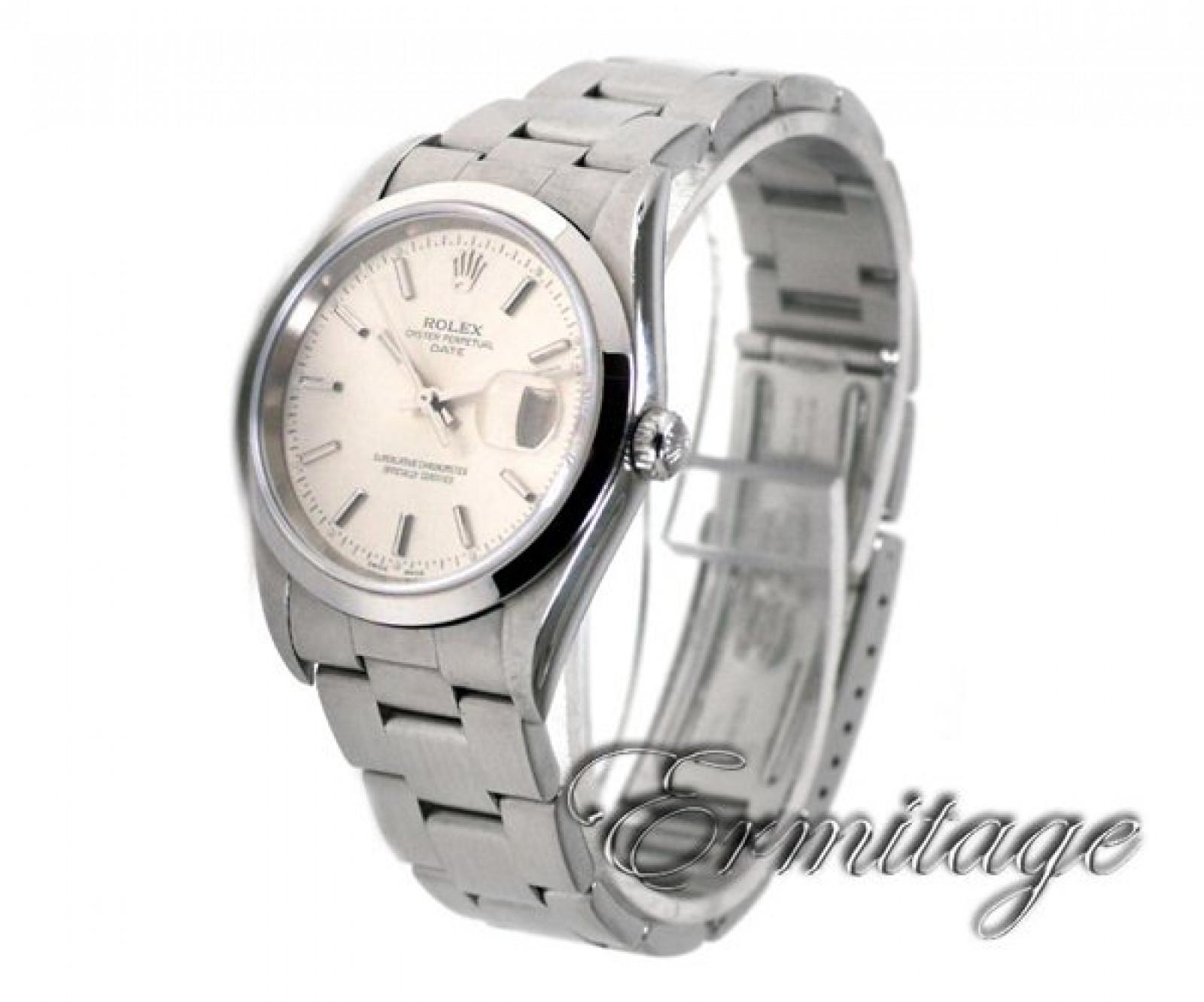 Rolex Date 15200 Steel Silver Dial 2003